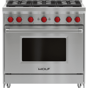 "Wolf36"" Gas Range - 6 Burners"