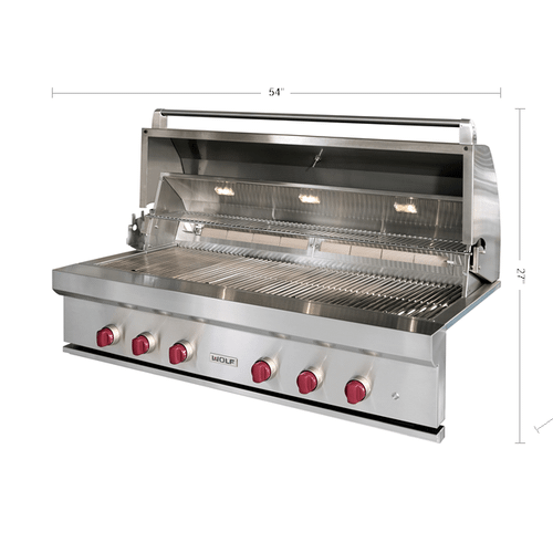 """Wolf - 54"""" Outdoor Gas Grill"""
