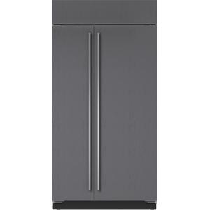 "Sub-Zero42"" Classic Side-by-Side Refrigerator/Freezer with Internal Dispenser - Panel Ready"