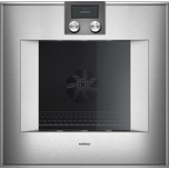 400 Series Oven 24'' Door Hinge: Left, Door Hinge: Left, Stainless Steel Behind Glass