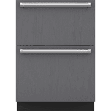 "See Details - 24"" Designer Freezer Drawers - Panel Ready"