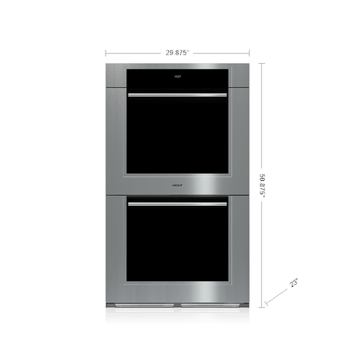 """Wolf - 30"""" M Series Transitional Built-In Double Oven"""