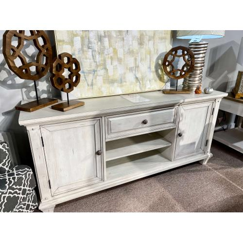 """American Woodcrafters - 66"""" Media Console"""