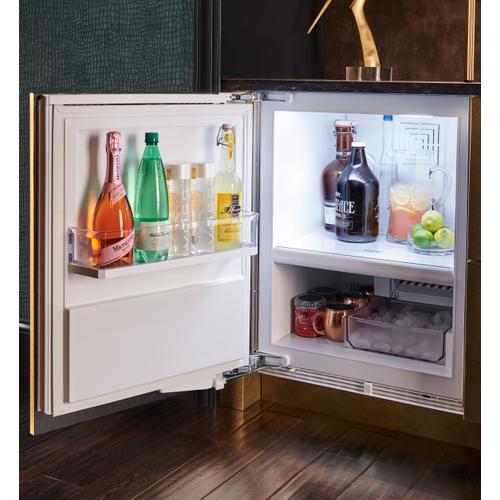 "24"" Designer Undercounter Refrigerator/Freezer with Ice Maker - Panel Ready"