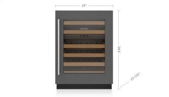 """24"""" Designer Undercounter Wine Storage - Panel Ready"""