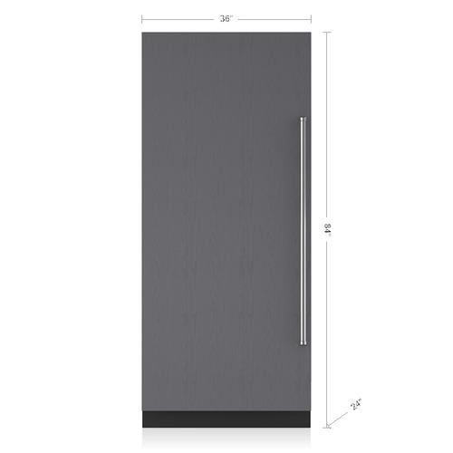 "Sub-Zero - 36"" Designer Column Refrigerator - Panel Ready"