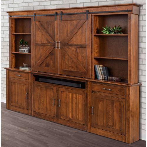 Amish Craftsman - Timbra Wall Unit