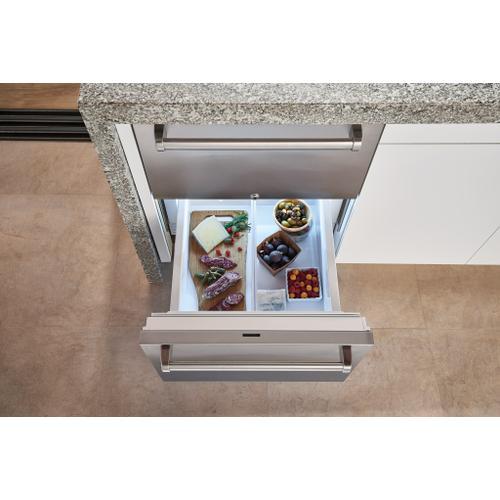 "Sub-Zero - 24"" Designer Outdoor Refrigerator Drawers - Panel Ready"