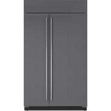 """See Details - 48"""" Classic Side-by-Side Refrigerator/Freezer with Internal Dispenser - Panel Ready"""
