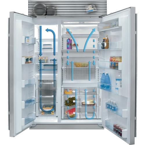 """Sub-Zero - 48"""" Classic Side-by-Side Refrigerator/Freezer"""
