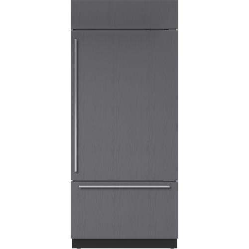 "Sub-Zero - 36"" Classic Over-and-Under Refrigerator/Freezer - Panel Ready"