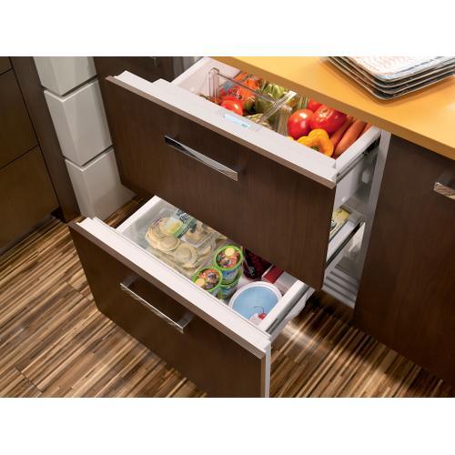 "Sub-Zero - 30"" Designer Refrigerator/Freezer Drawers - Panel Ready"
