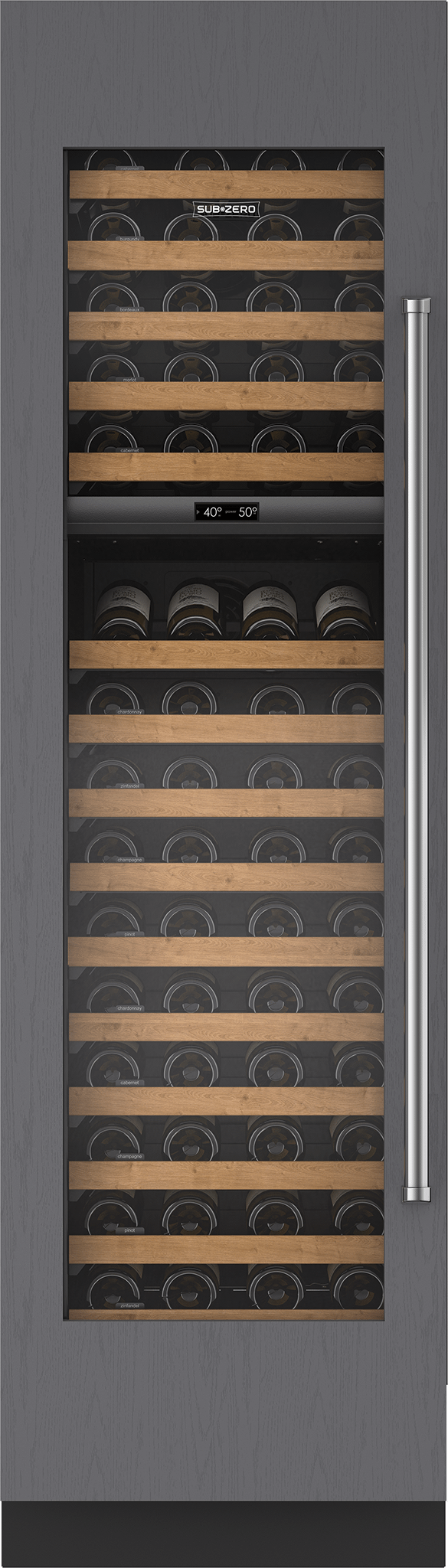 "Subzero24"" Designer Wine Storage - Panel Ready"