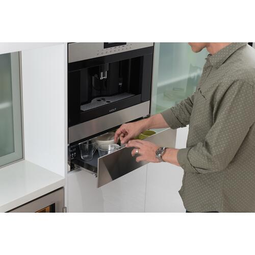 """Wolf - 24"""" Cup Warming Drawer - Stainless Steel"""