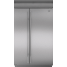 """See Details - 48"""" Classic Side-by-Side Refrigerator/Freezer"""