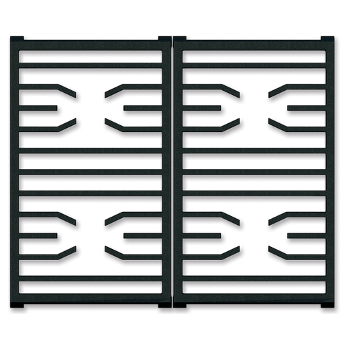 "30"" Transitional Grate Set"