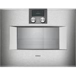 400 Series Combi-steam Oven 24'' Door Hinge: Right, Door Hinge: Right, Stainless Steel Behind Glass