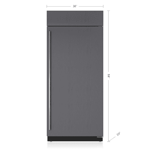 "Sub-Zero - 36"" Classic Refrigerator - Panel Ready"