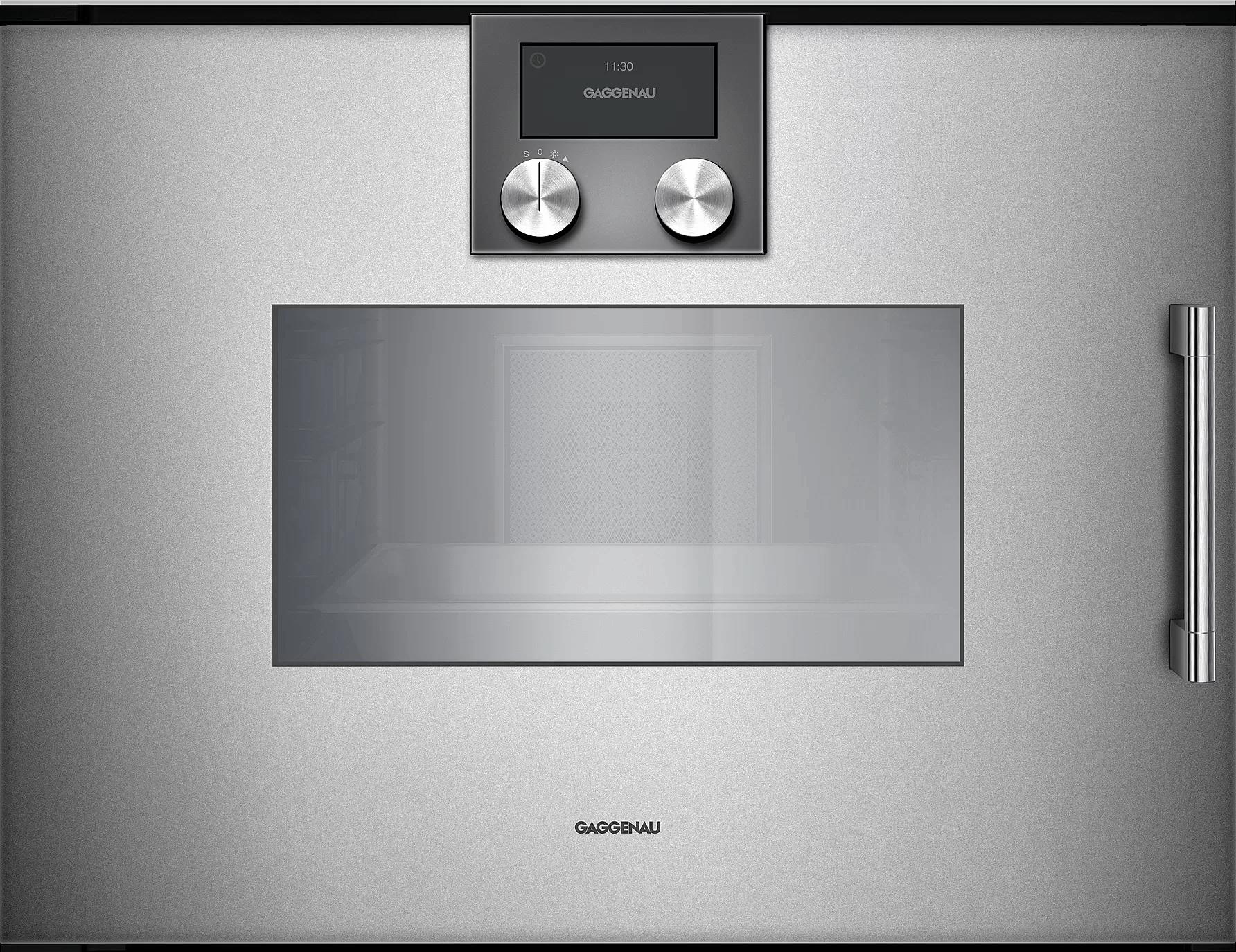200 Series Combi-steam Oven 24'' Door Hinge: Left, Door Hinge: Left,  Metallic Photo #1