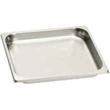 See Details - Large Stainless Steel Pan (perforated)