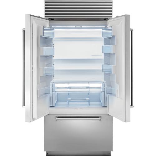"Sub-Zero - 36"" Classic French Door Refrigerator/Freezer with Internal Dispenser"