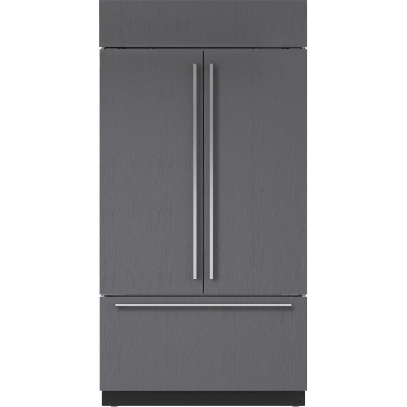 """42"""" Classic French Door Refrigerator/Freezer with Internal Dispenser - Panel Ready"""