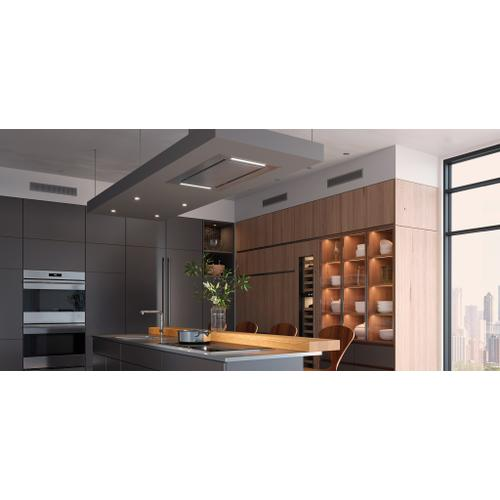 """Wolf - 36"""" Ceiling-Mounted Hood - Stainless Steel"""