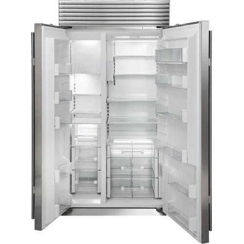 "Sub-Zero - 42"" Classic Side-by-Side Refrigerator/Freezer with Internal Dispenser"