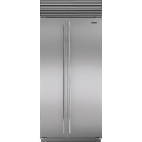"""Sub-Zero - 36"""" Classic Side-by-Side Refrigerator/Freezer"""