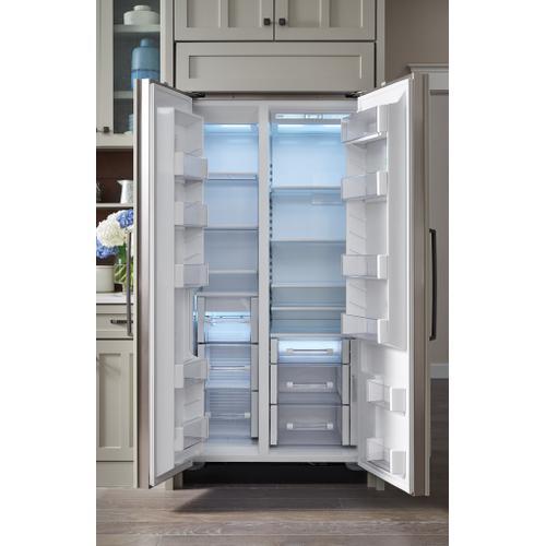 """Sub-Zero - 36"""" Classic Side-by-Side Refrigerator/Freezer - Panel Ready"""