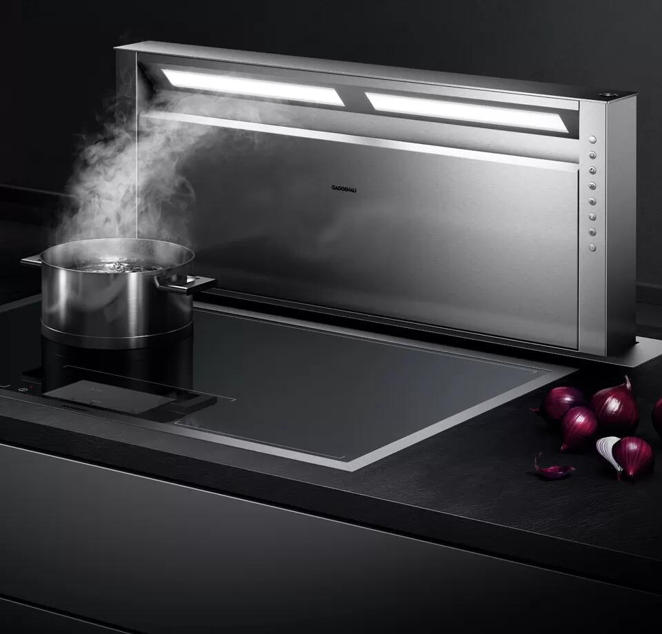 400 Series Backsplash Ventilation 48'' Stainless Steel Photo #3
