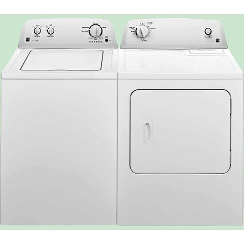 Kenmore 3.5 cu Washer and 6.5 cu Electric Dryer