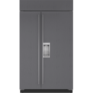 """Sub-Zero48"""" Classic Side-by-Side Refrigerator/Freezer with Dispenser - Panel Ready"""