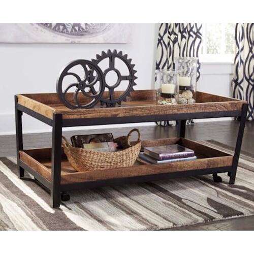 Signature Design By Ashley - Square End Table