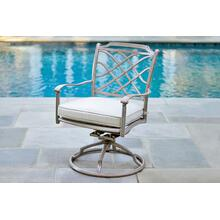 Agio International Sydney Swivel Rocker Dining Chair