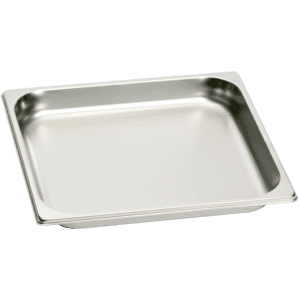 GaggenauFull Size Stainless Steel Pan - Unperforated GN114230
