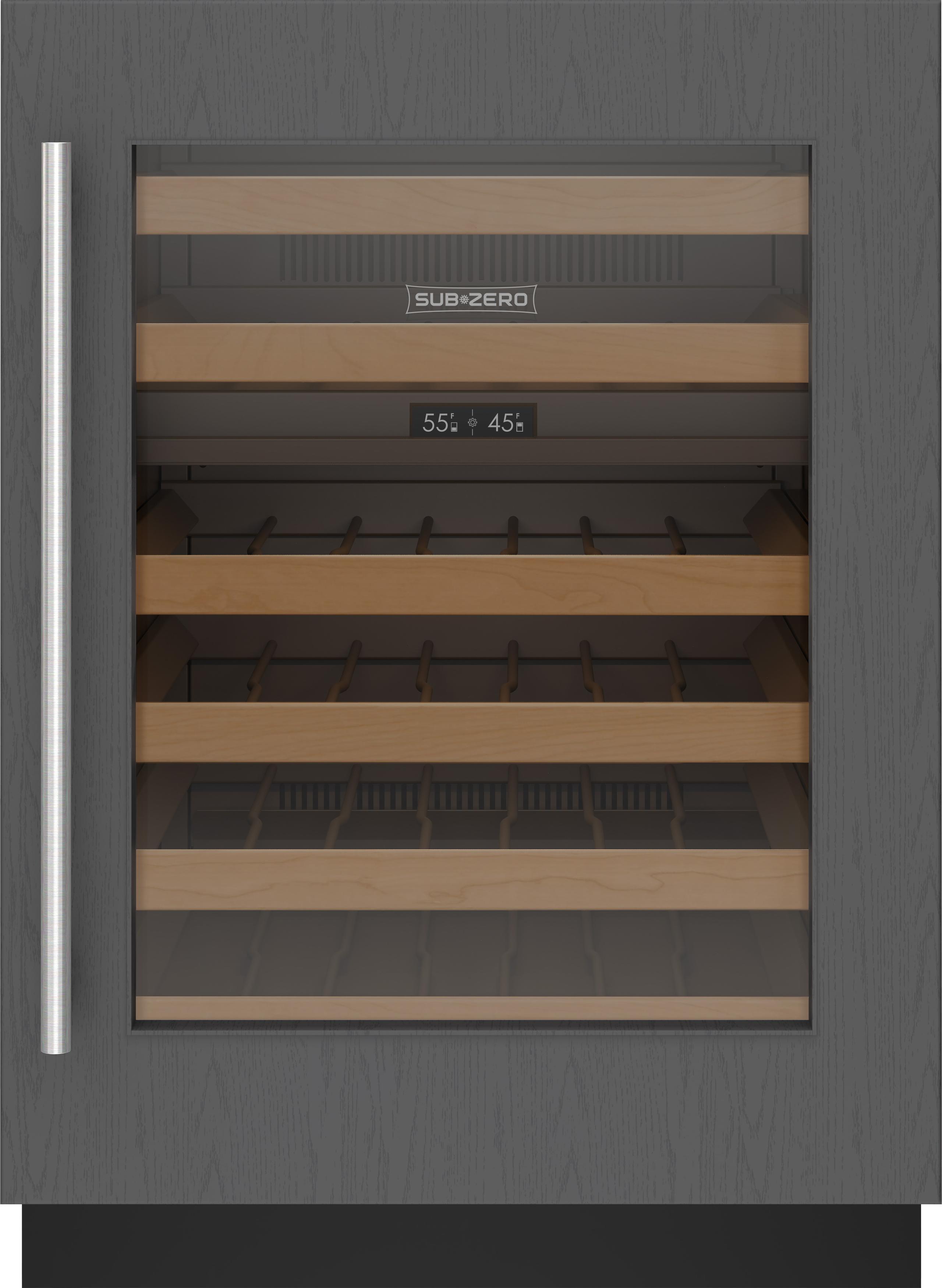 "Subzero24"" Designer Undercounter Wine Storage - Panel Ready"