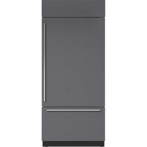 "Subzero36"" Classic Over-and-Under Refrigerator/Freezer with Internal Dispenser - Panel Ready"