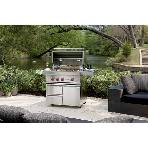 """Wolf - 36"""" Outdoor Gas Grill"""