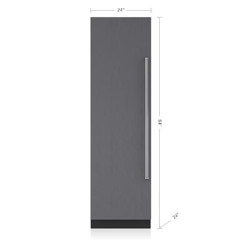 "Sub-Zero - 24"" Designer Column Refrigerator/Freezer - Panel Ready"