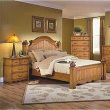 See Details - Hailey Queen Poster Bed