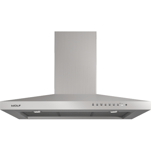 """Wolf - 36"""" Cooktop Wall Hood - Stainless"""