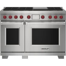 """See Details - 48"""" Dual Fuel Range - 6 Burners and Infrared Griddle"""