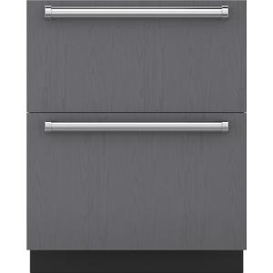 "Subzero27"" Designer Refrigerator Drawers - Panel Ready"