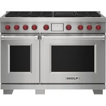 """See Details - 48"""" Dual Fuel Range - 6 Burners and Infrared Charbroiler"""