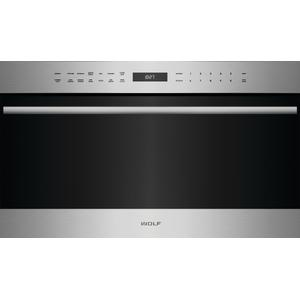 "Wolf30"" E Series Transitional Drop-Down Door Microwave Oven"