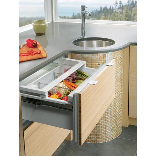 "Sub-Zero - 36"" Designer Refrigerator Drawers - Panel Ready"