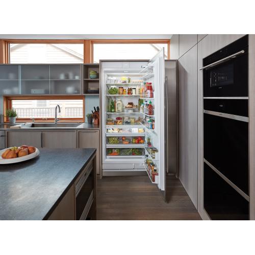 "Sub-Zero - 36"" Designer Column Refrigerator with Internal Dispenser - Panel Ready"