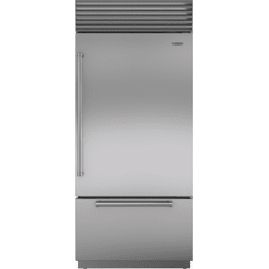 "Sub-Zero36"" Classic Over-and-Under Refrigerator/Freezer with Internal Dispenser"