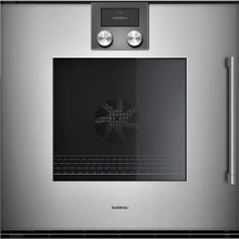 200 Series Oven 24'' Door Hinge: Left, Door Hinge: Left, Gaggenau Metallic